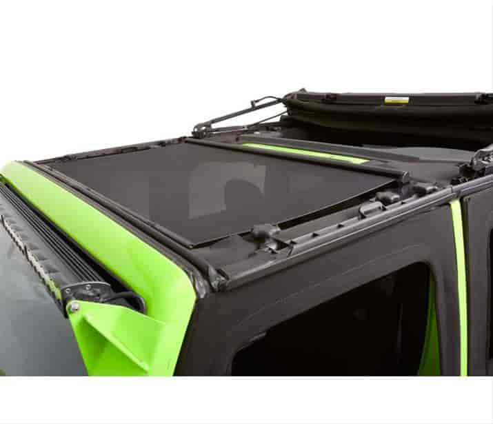 Bestop 52405 11 Bestop Soft Top Retractable Sunshade 2007