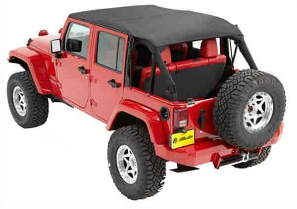 Bestop Traditional Bikini Top 2010 14 Jeep Wrangler Unlimited