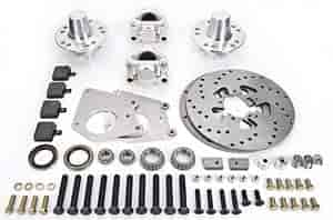 Aerospace Components AC-140 - Aerospace Components 2 Piston Medium Duty Front Drag Race Brake Kits