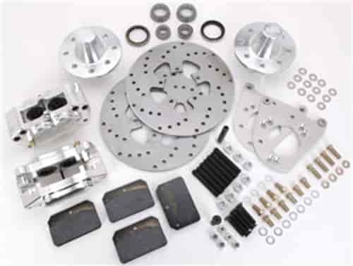 Aerospace Components AC-253 - Aerospace Components 4 Piston Heavy Duty Front Drag Race Brake Kits