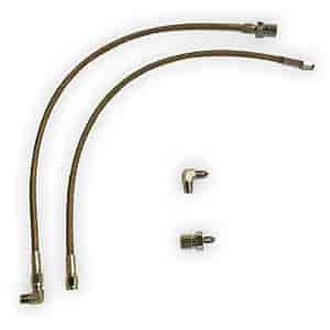 Aerospace Components AC-4100-C - Aerospace Components Braided Stainless Steel Brake Line Kits