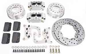 Aerospace Components AC-520 - Aerospace Components Rear Drag Race Brake Kits