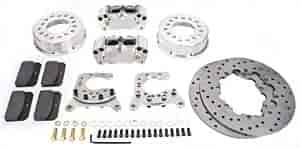 Aerospace Components AC-525 - Aerospace Components Rear Drag Race Brake Kits
