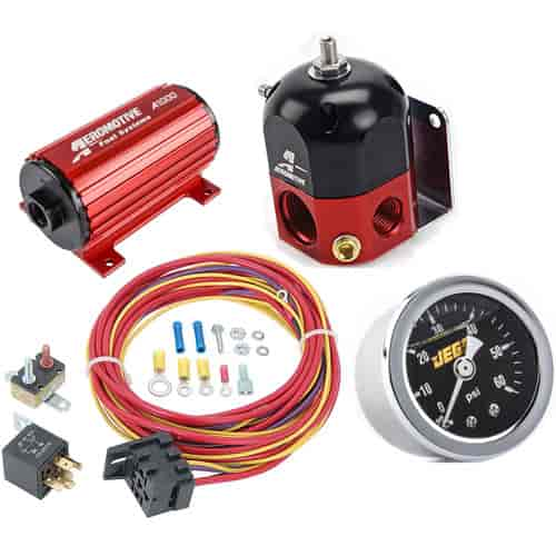 aeromotive a1000 fuel pump system kit Aeromotive Wiring Harness wiring harness for dual or triple fuel