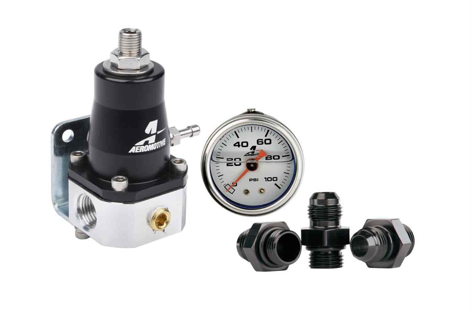 Aeromotive 13130 - Aeromotive Compact EFI Fuel Pressure Regulator
