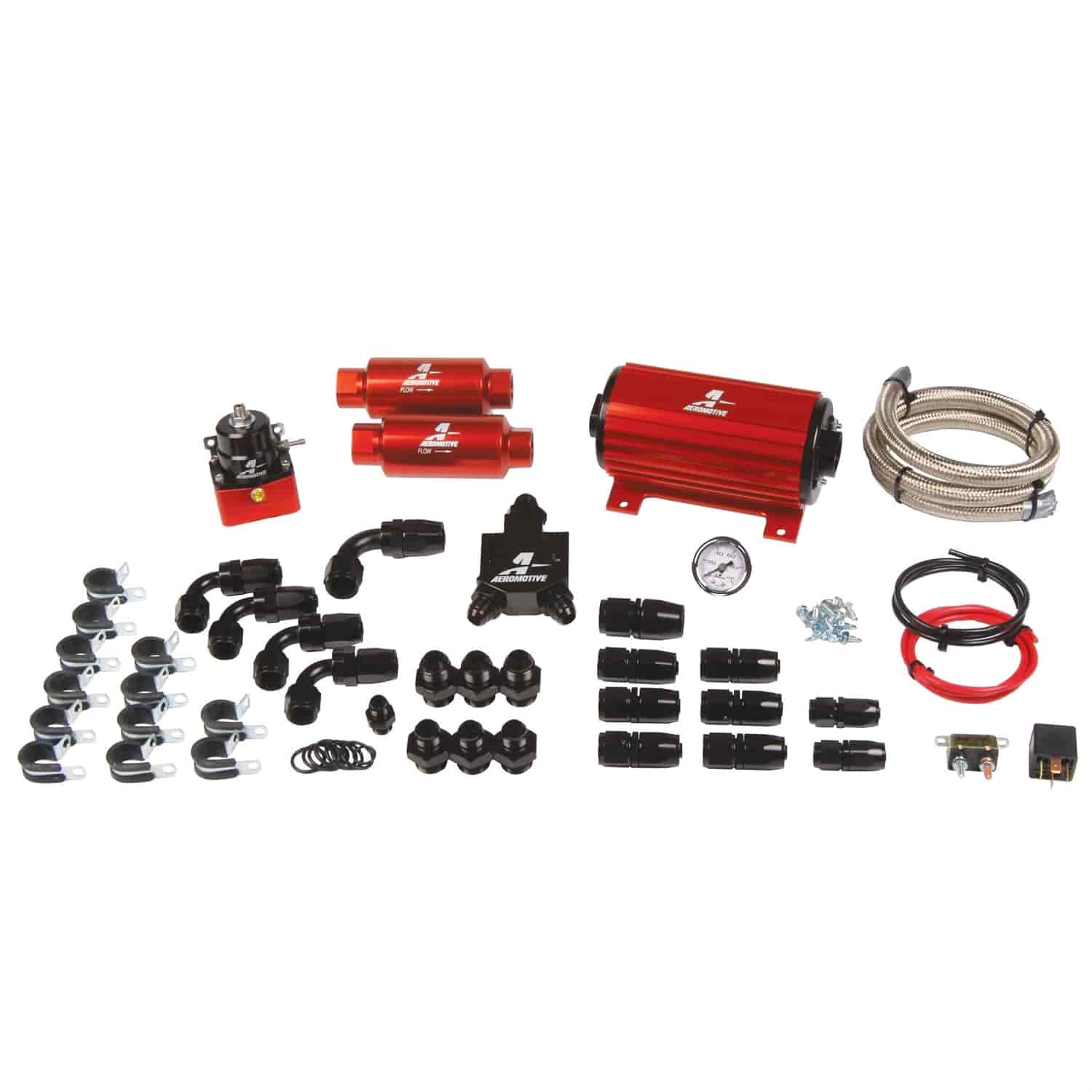 Aeromotive 17125 - Aeromotive Universal Bolt-On Fuel Systems