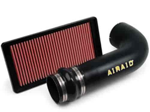 AirAid Engine Cold Air Intake Tube 300-917; Black High-Density Polyethylene