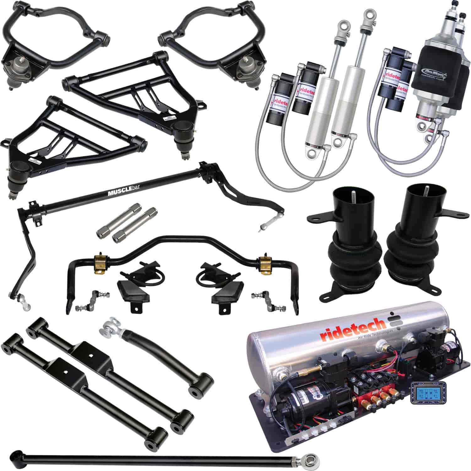 Ridetech 11060399 - Ridetech 1958-64 Chevy Impala Air Suspension System