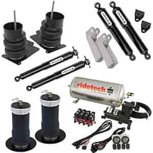 Ridetech 11220199 - Ridetech 1964-72 Chevelle/GTO/Cutlass/Skylark Air Suspension System