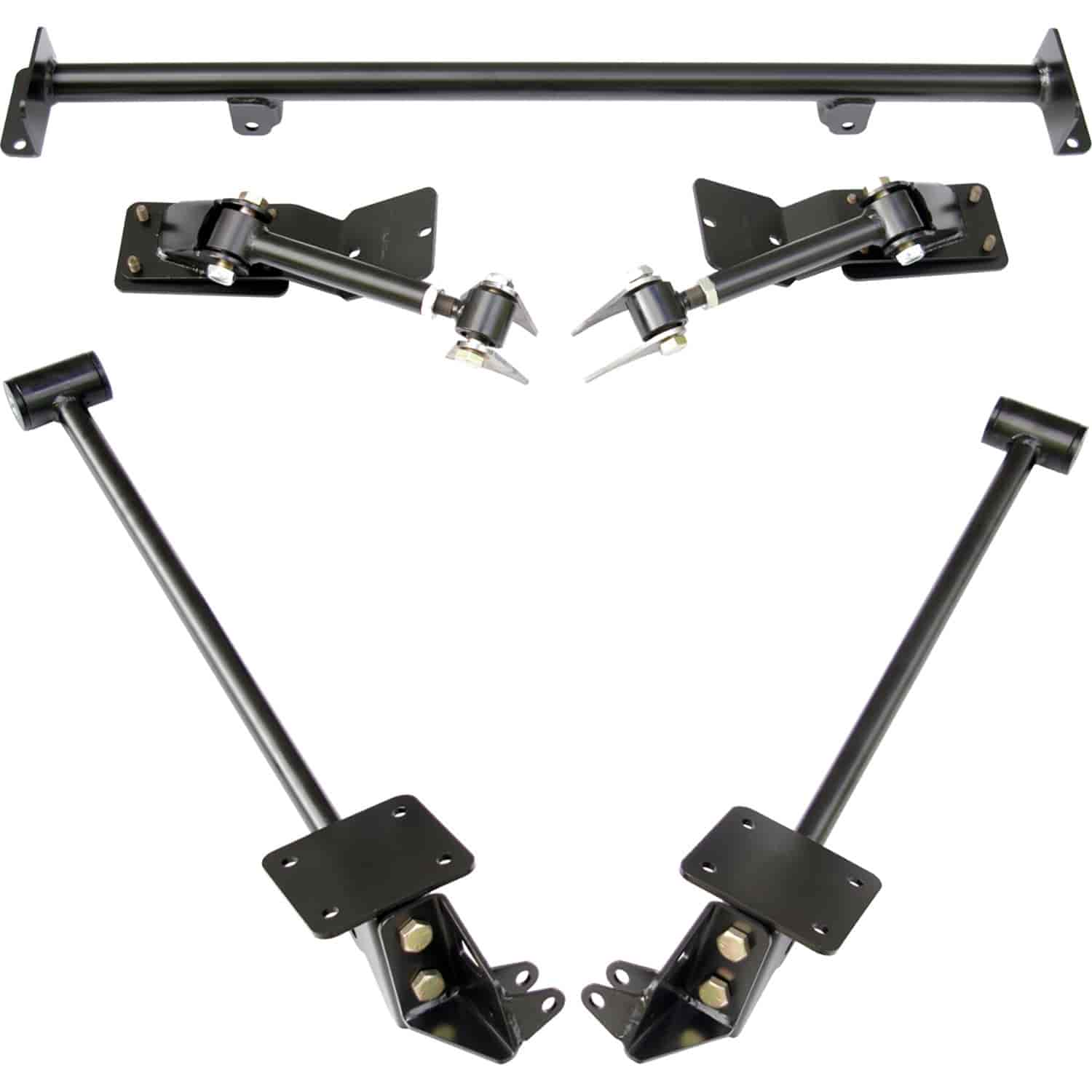 Ridetech 11257199 - RideTech AirBar 4-Link Rear Suspension System