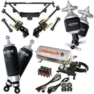 Ridetech 12090199 - Ridetech 1964-70 Mustang Air Suspension System