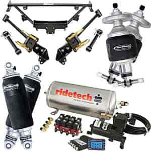Ridetech 12090299 - Ridetech 1964-70 Mustang Air Suspension System