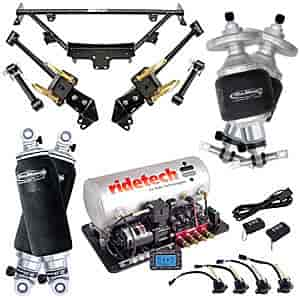 Ridetech 12090399 - Ridetech 1964-70 Mustang Air Suspension System