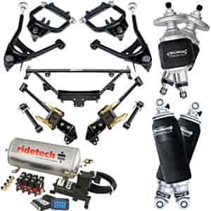 Ridetech 12100299 - Ridetech 1964-70 Mustang Air Suspension System