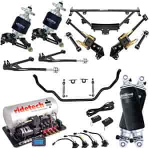 Ridetech 12100399 - Ridetech 1964-70 Mustang Air Suspension System