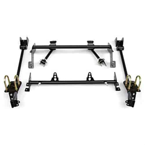 Ridetech 13017199 - Ridetech AirBar 4-Link Rear Suspension System