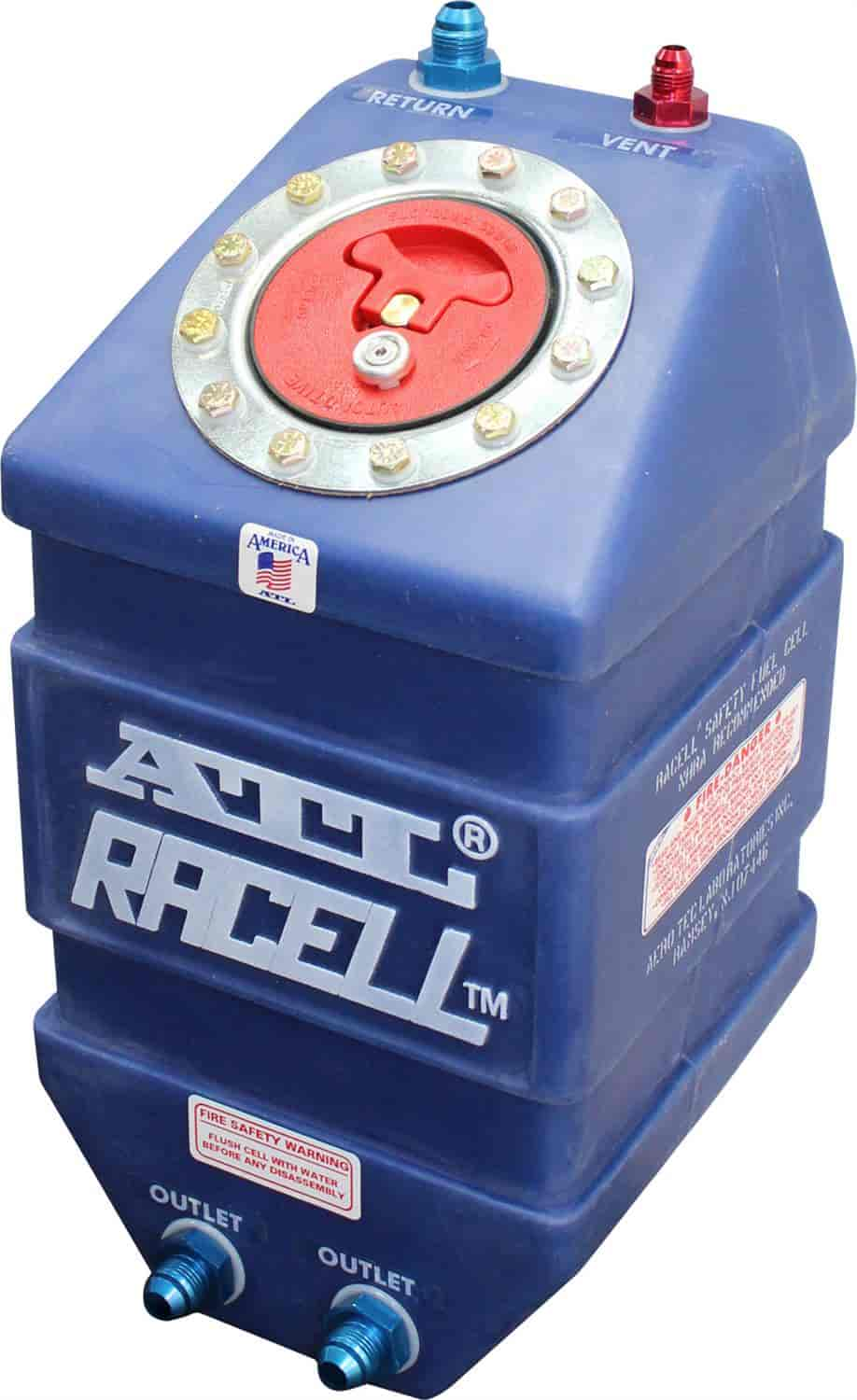 Atl Ra103 Racell 3 Gallon Fuel Cell 8an Dual Outlets And