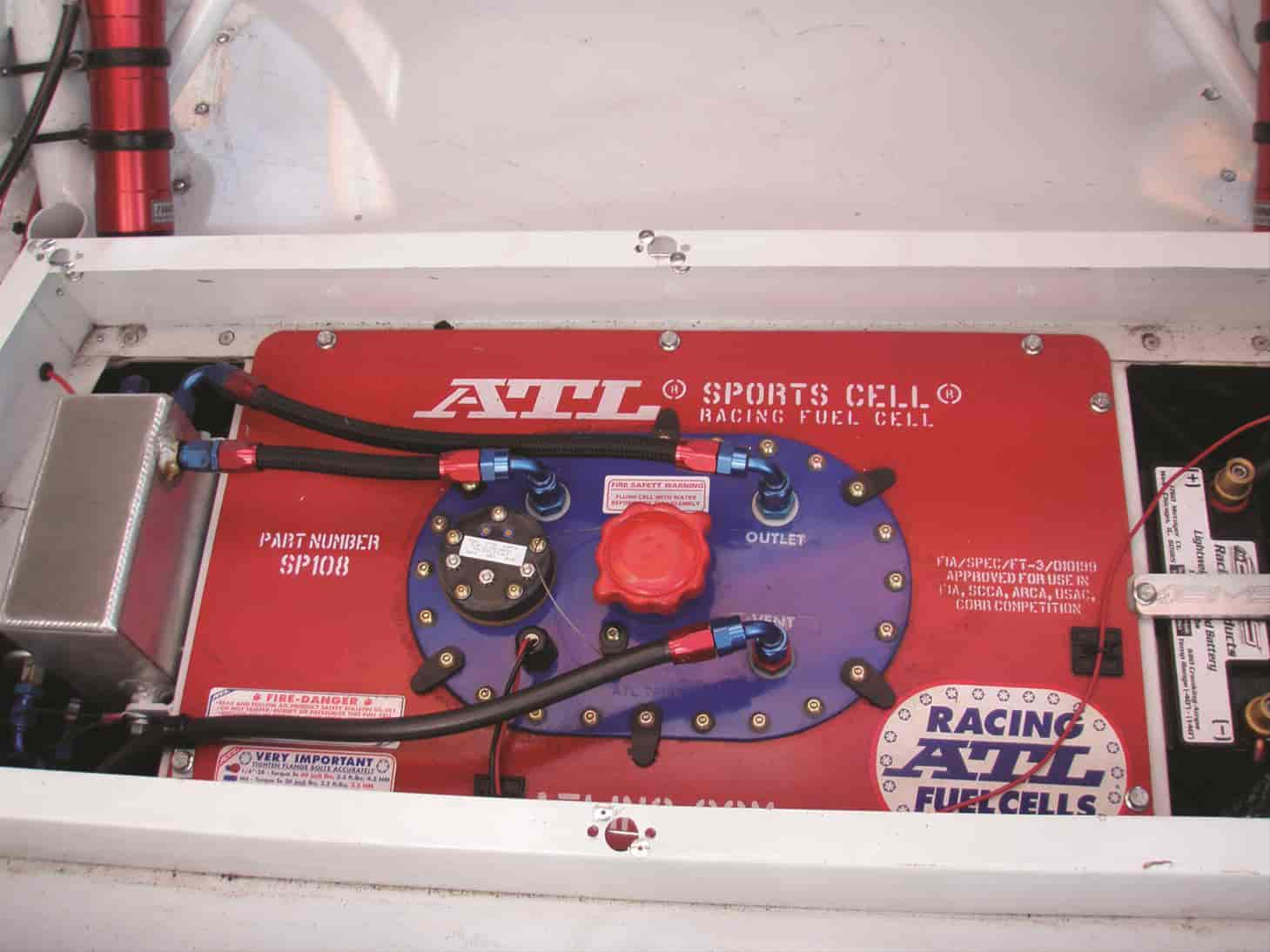ATL 22 Gallon Sports Cell Dirt Late Model Fuel Cell