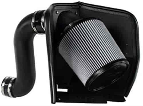 BLACK 2003-2007 DODGE RAM 2500 5.9 5.9L ST//SLT//TRX4 HEAT SHIELD AIR INTAKE KIT
