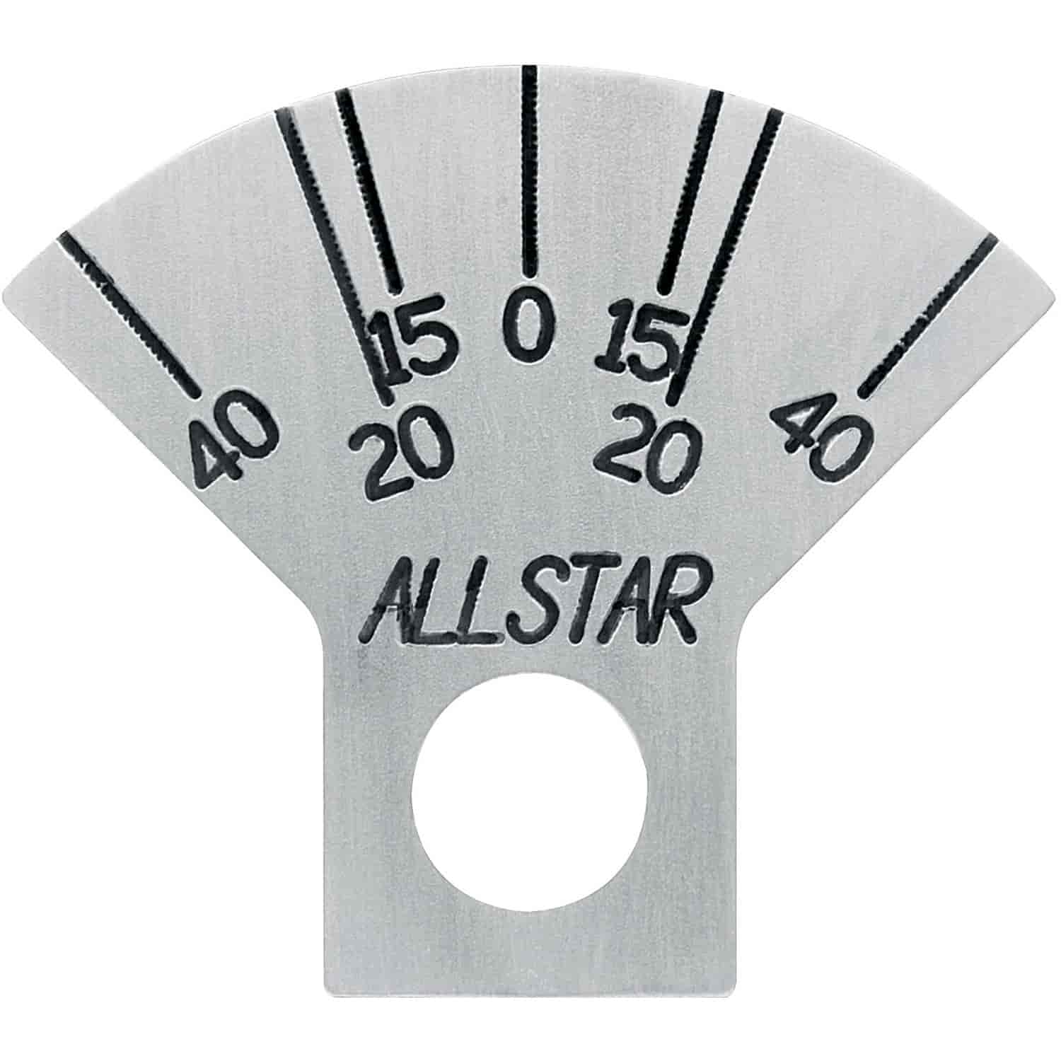Allstar Performance ALL10752 - Allstar Caster Plate