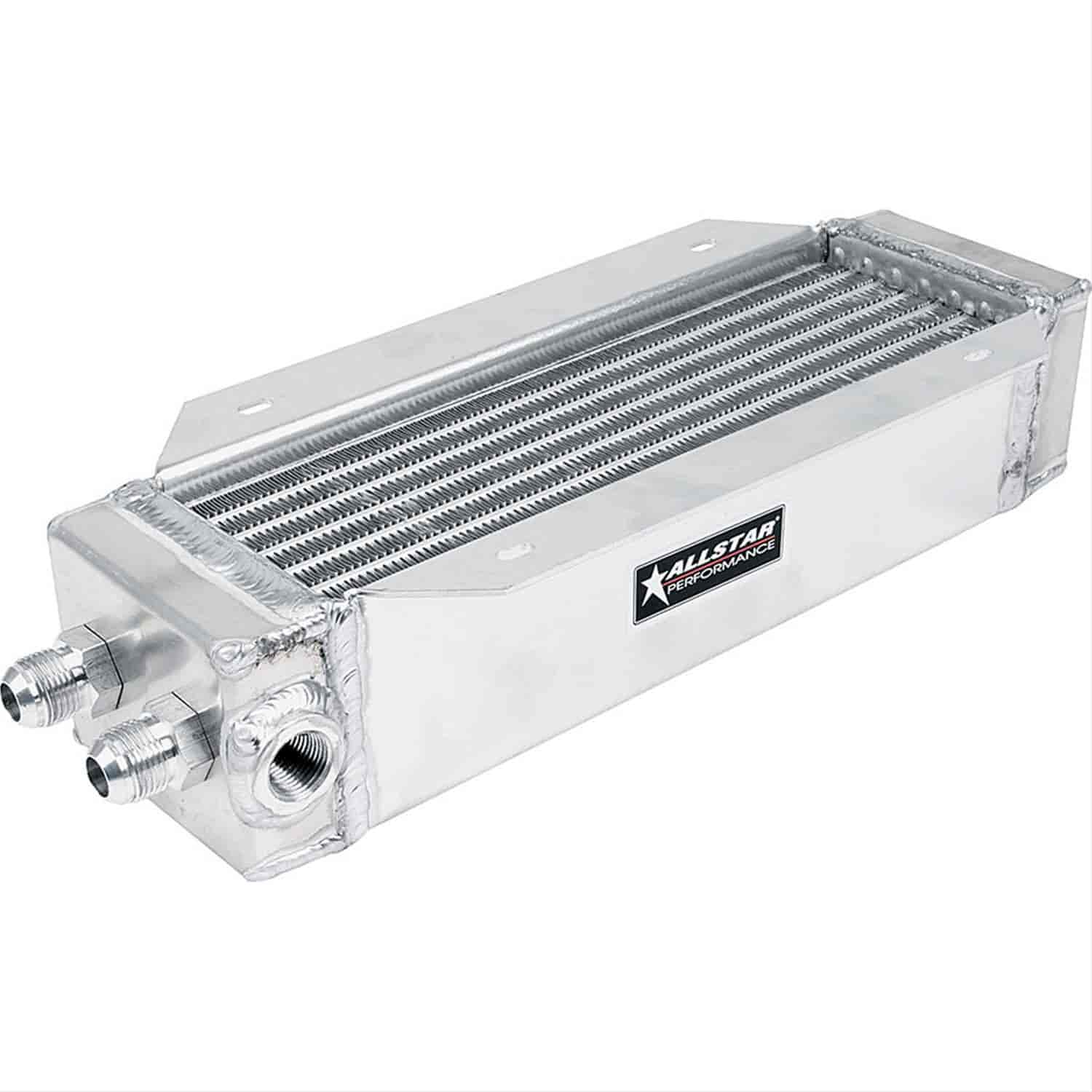 Allstar Performance ALL30146 - Allstar Deck Mount Oil Cooler & Scoops