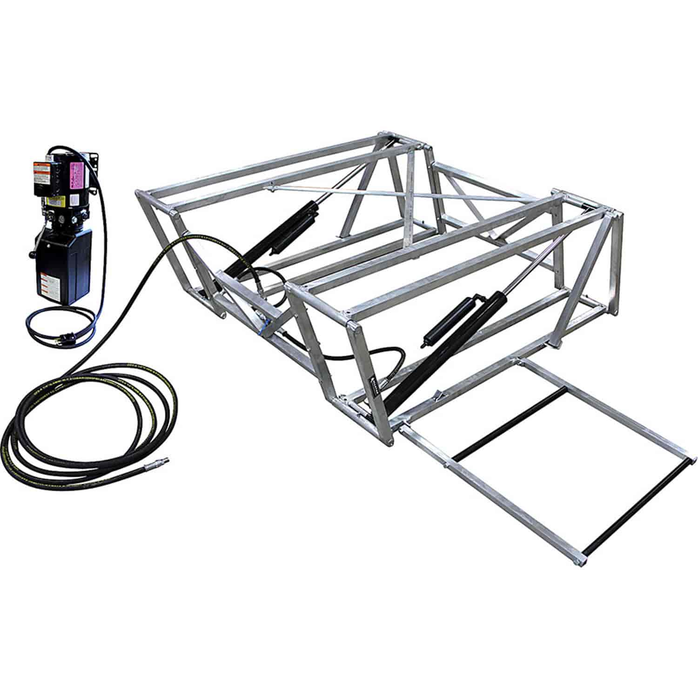 Allstar Performance ALL11272: Aluminum Frame Race Car Lift Includes ...