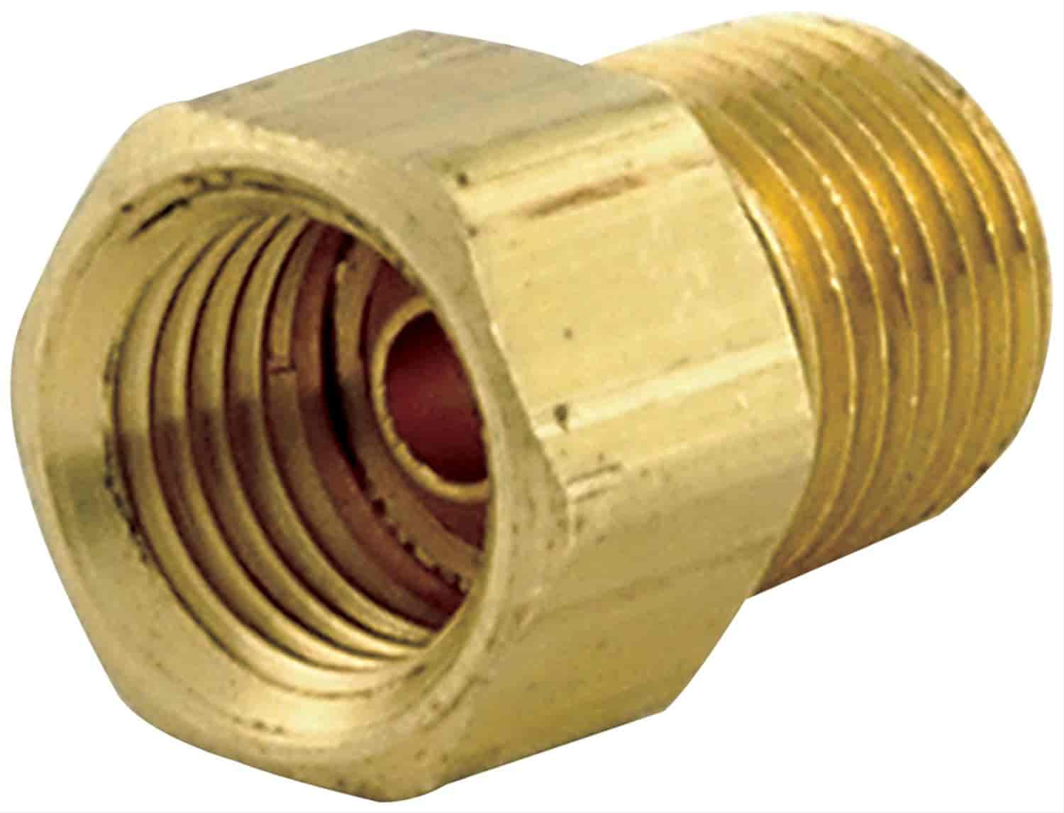 """Allstar Performance ALL Adapter Fittings 1 8"""" NPT Male to 7 16"""