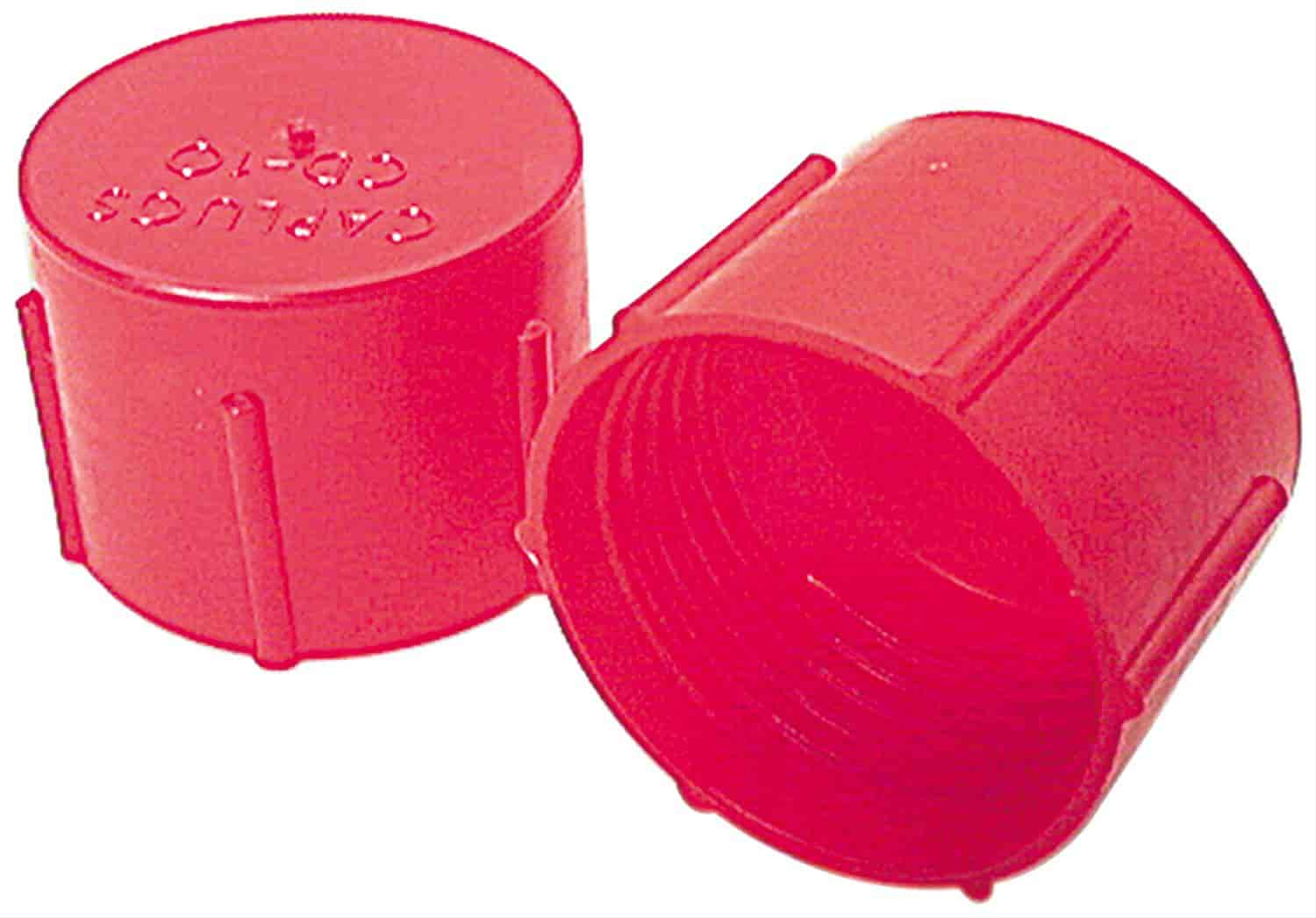 Allstar ALL50810 Red Plastic Fitting Plug Kit for 3AN to 16AN