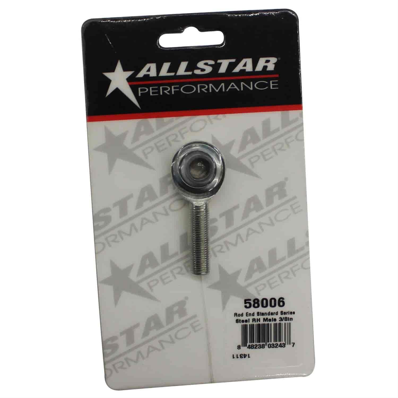 Allstar Performance ALL58036 Standard Series 3//8 Steel Right Female Rod End