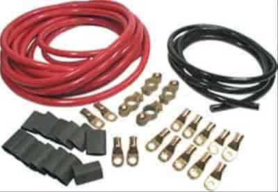 2 Gauge Battery Cable : Allstar performance all battery cable kit gauge