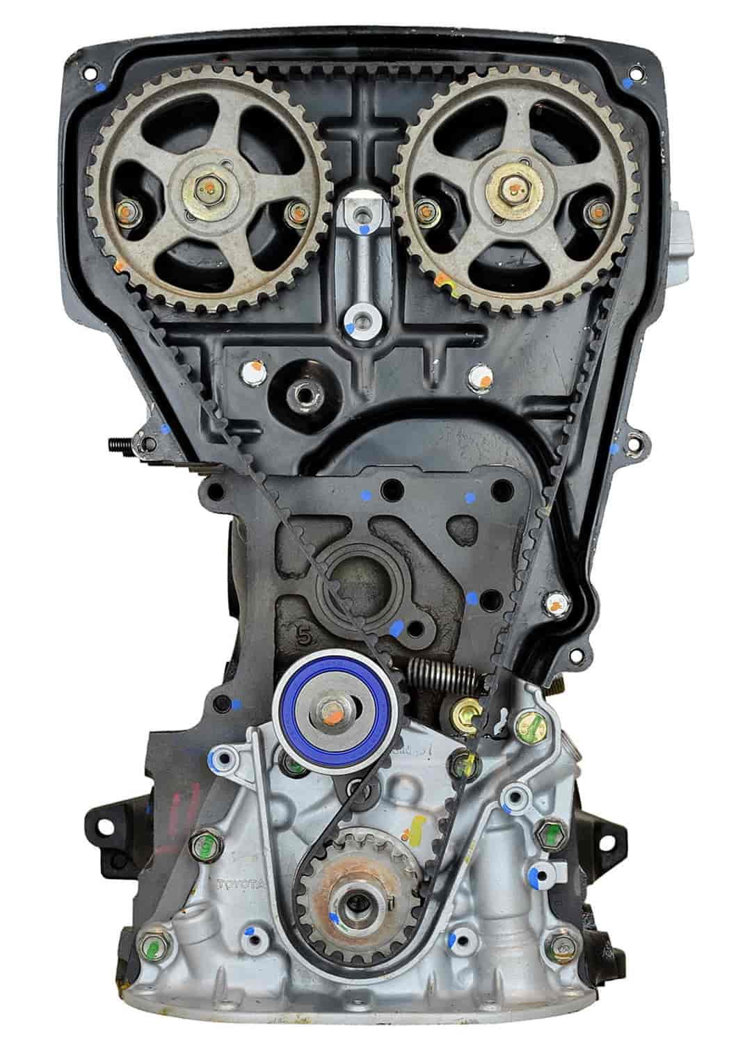 ATK Engines Remanufactured Crate Engine for 1987-1989 Toyota Corolla with  1 6L L4 4AGE