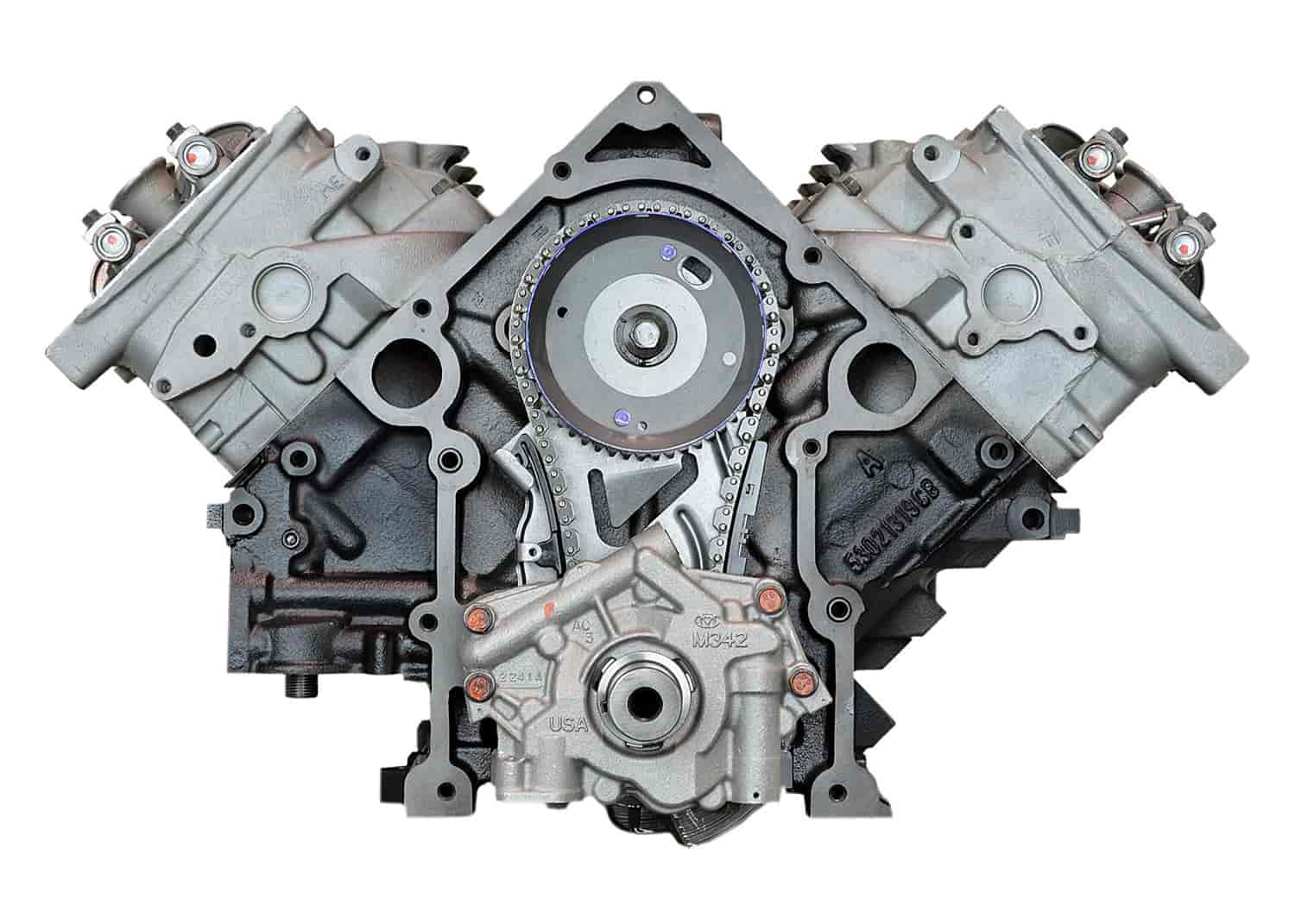 Atk Engines Ddh8 Remanufactured Crate Engine For 2004 2008 Dodge Ram Truck Durango With 5 7l Hemi V8 Jegs