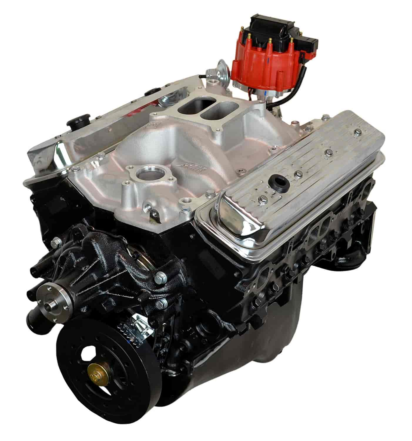atk engines hp32m high performance crate engine small block chevy 350ci 350hp 400tq jegs. Black Bedroom Furniture Sets. Home Design Ideas