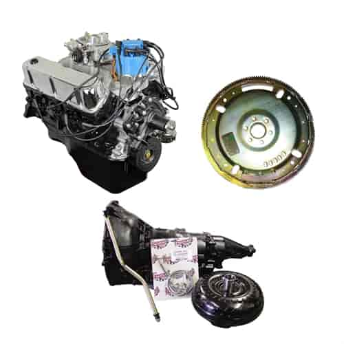 ATK Engines Ford 302 Engine and Transmission Kit