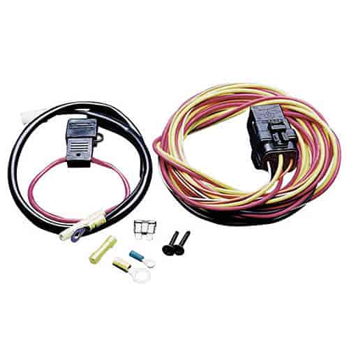 spal frh fan relay wiring harness does not include thermo switch jegs rh jegs com