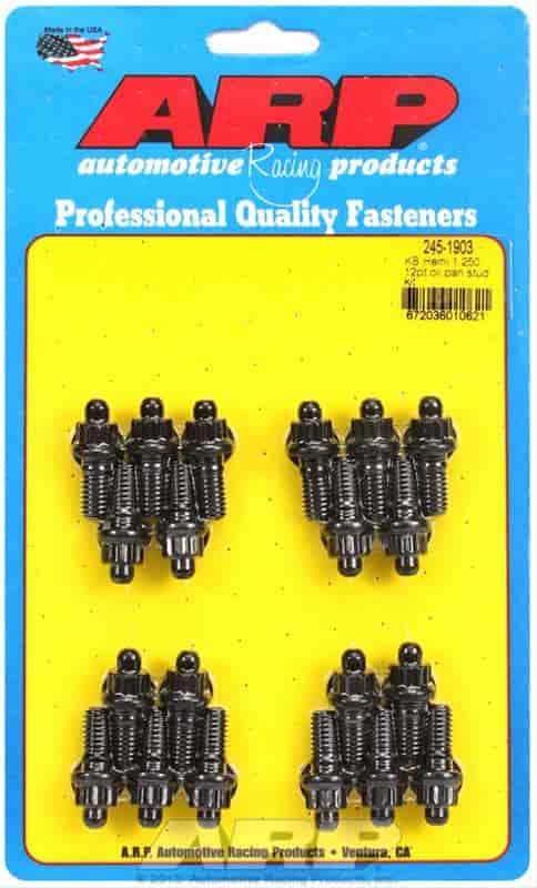 ARP 245-1903 - ARP Oil Pan Stud Kits