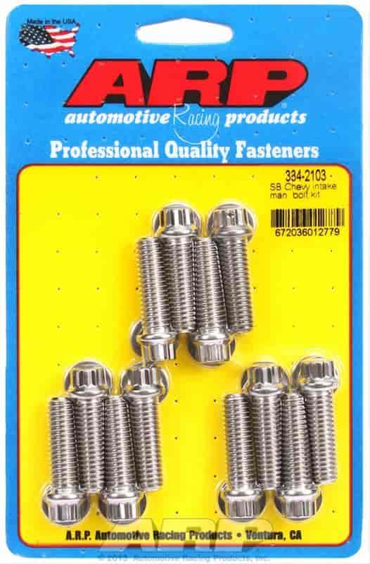 ARP 334-2103: Intake Manifold Bolt Kit Small Block Chevy