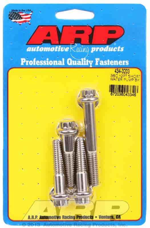 ARP Water Pump Bolts Small Block Chevy