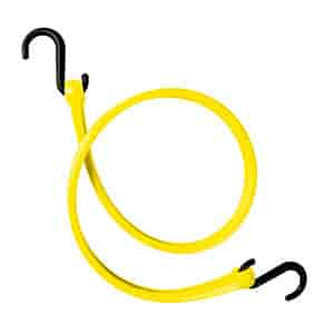 The Perfect Bungee PBNH24Y-RP - The Perfect Bungee Easy Stretch Straps with Nylon ''S'' Hooks