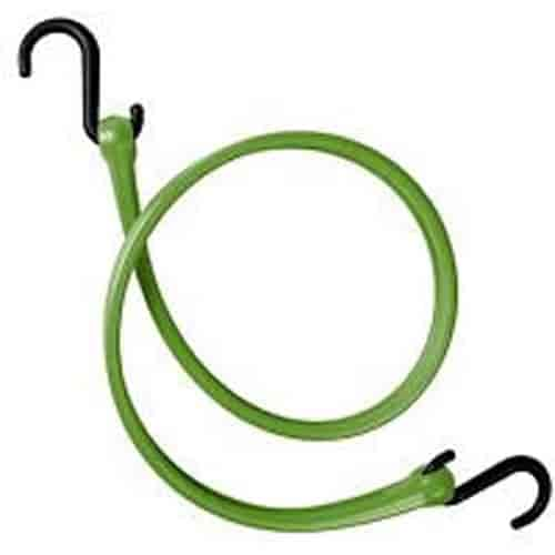 The Perfect Bungee PBNH24CG-RP - The Perfect Bungee Easy Stretch Straps with Nylon ''S'' Hooks