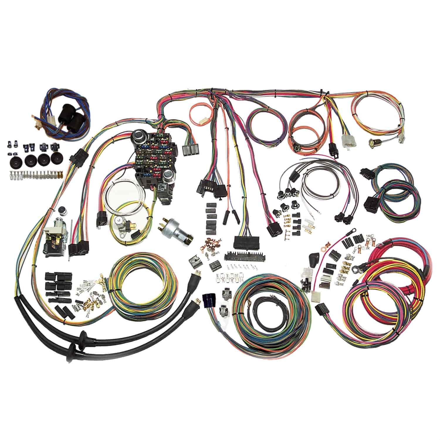 american autowire classic update wiring kit 1957 full size chevy Battery Tender Wiring Harness