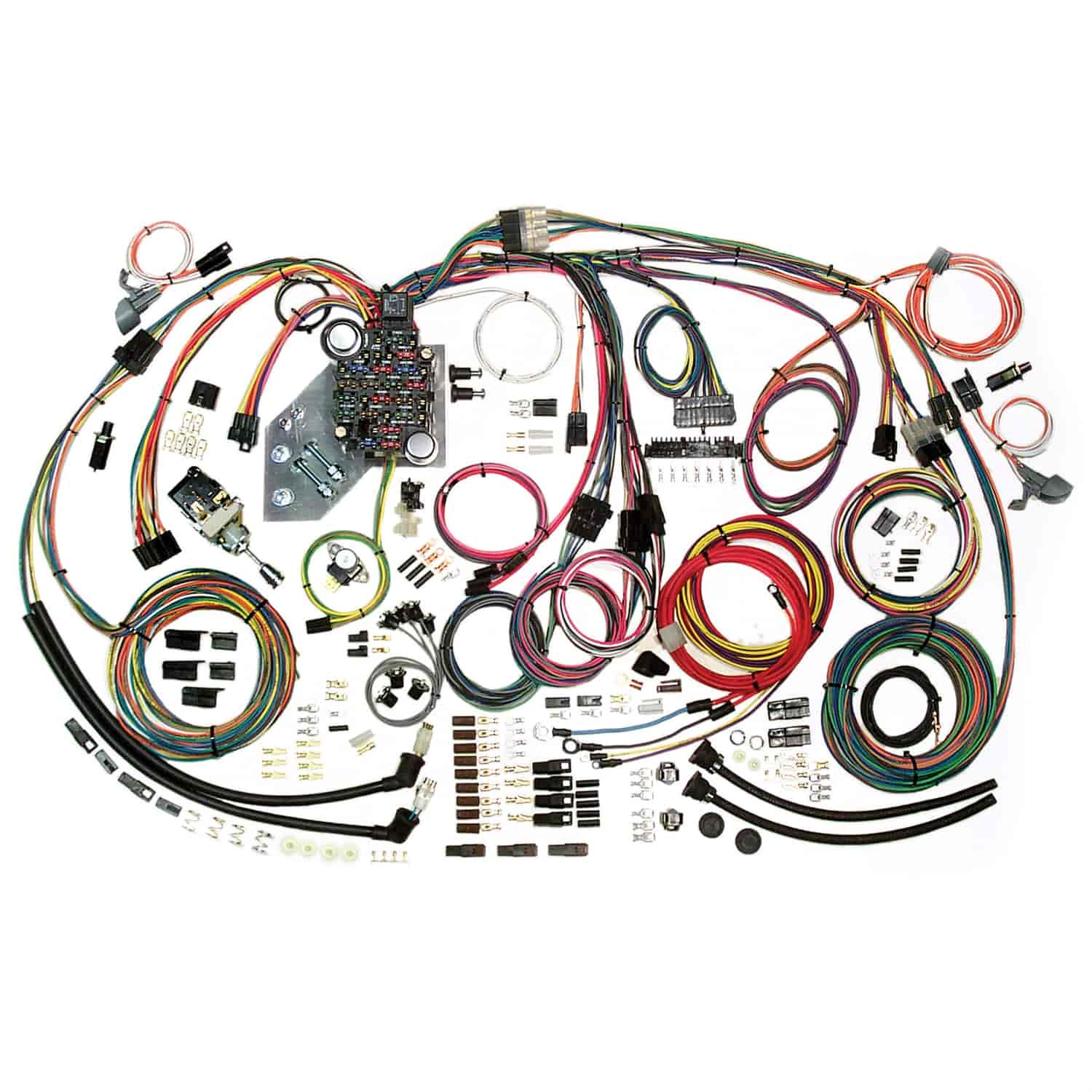 american autowire classic update wiring kit 1947 1955 chevy truck american autowire 1955 1956 chevy