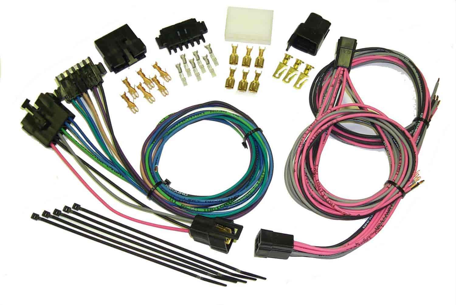 American Autowire 500505: Universal Gauge Connection Harness Kit | on universal miller by sperian harness, construction harness, universal air filter, universal equipment harness, universal ignition module, universal battery, universal radio harness, universal heater core, universal fuel rail, lightweight safety harness, stihl universal harness, universal steering column, universal fuse box,