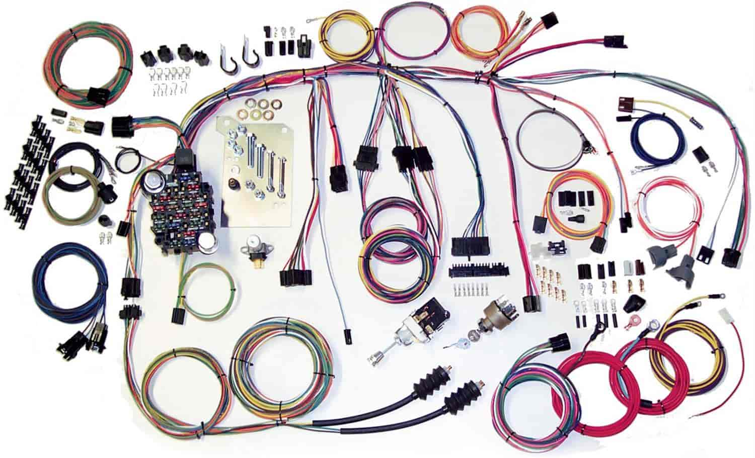 [DIAGRAM_38ZD]  American Autowire 500560: Classic Update Wiring Kit [1960-1966 Chevy Truck]  | JEGS | 1966 Chevy Wiring |  | Jegs