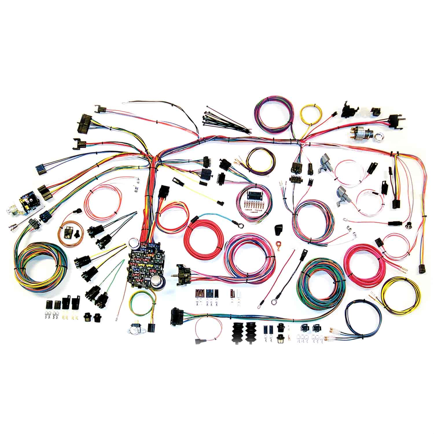 American Autowire Clic Update Wiring Kit 1967-1968 Chevy Camaro on