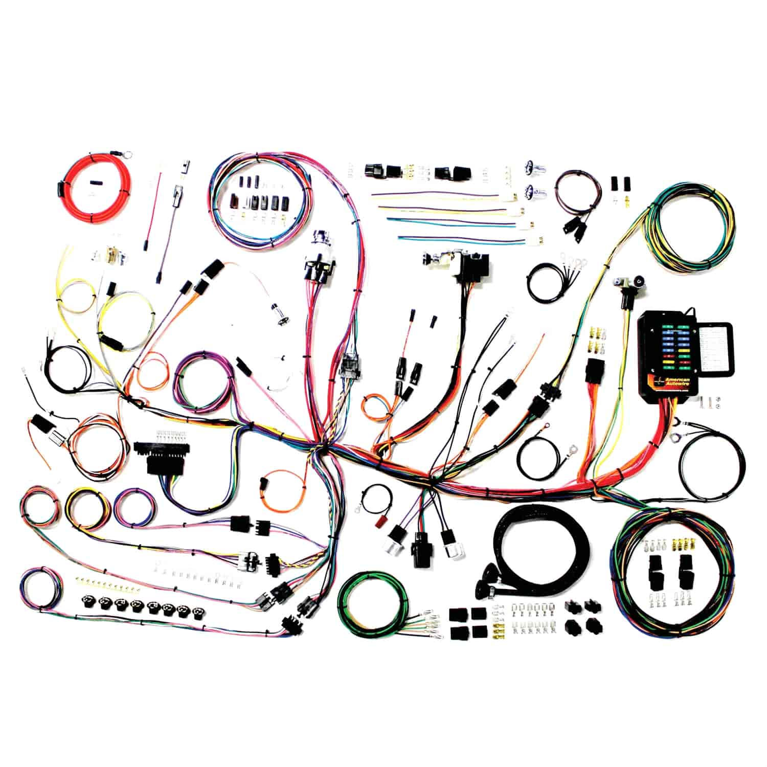 american autowire classic update wiring kit 1953-1962 chevy corvette