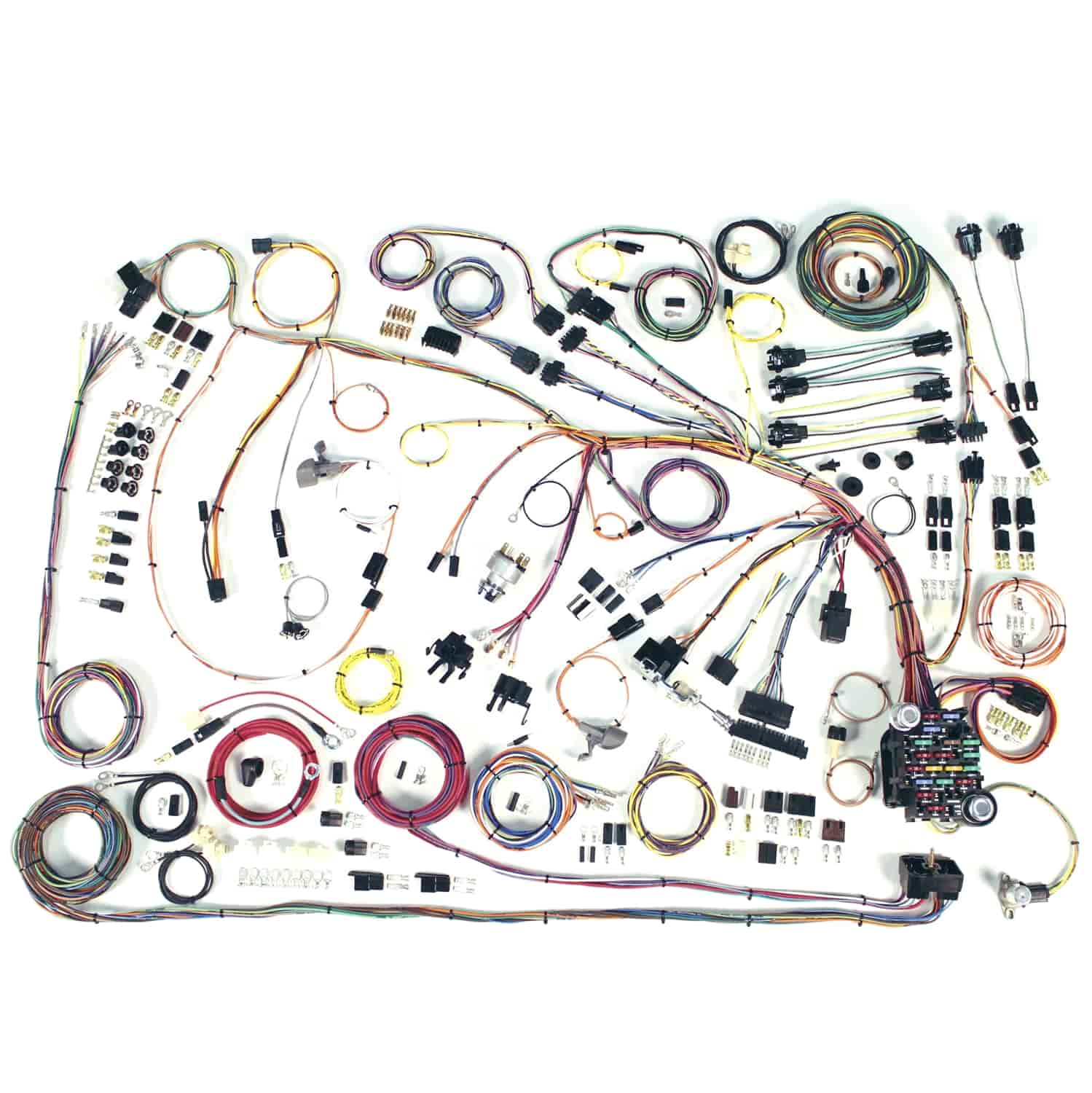 American Autowire 510372 Classic Update Wiring Kit 1966