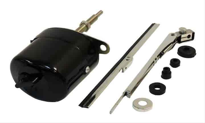 Crown automotive 12v wiper motor kit front left and right 12 volt wiper motor