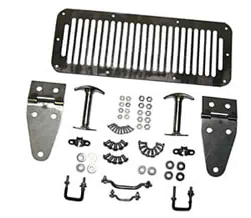 Crown Automotive 488499 - Crown Automotive Complete Hood Sets