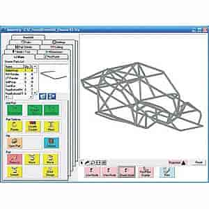 Baileigh BT-PRO - Baileigh Bend Tech - Tube and Pipe Bending Layout Software